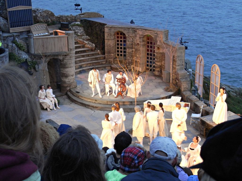 The Minack Theatre. Cornwall's world famous openair