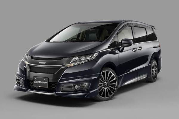 2017 Honda Odyssey Mugen To Sport Sleek New Look