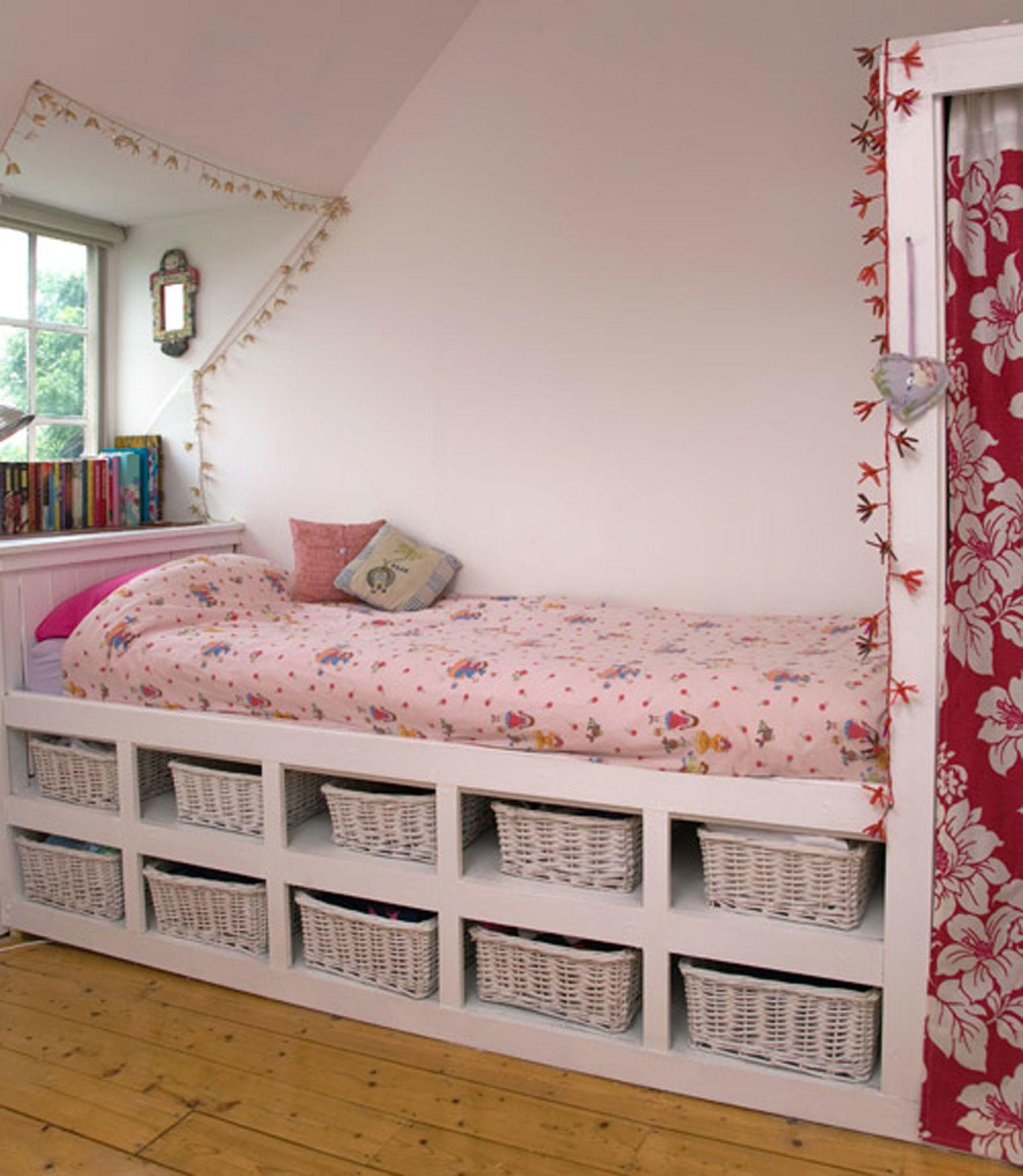 10 ways to maximize storage how to pinterest bedroom - Maximize storage in small bedroom ...