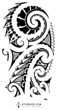 High Resolution Maori Shoulder Tattoos Storm3d Designs