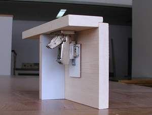 Concealed Hinge For 3/8 Inset Door | Fine Woodworking Knots