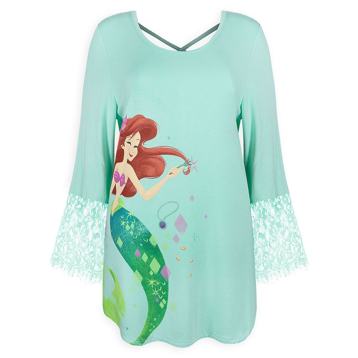 d4183d1b Product Image of Ariel Long Sleeve Fashion Top for Women - Disney Princess  Mystique # 1