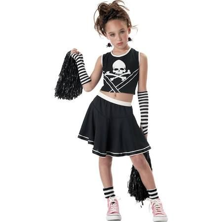 Kmart Punk Cheerleader Halloween Costume