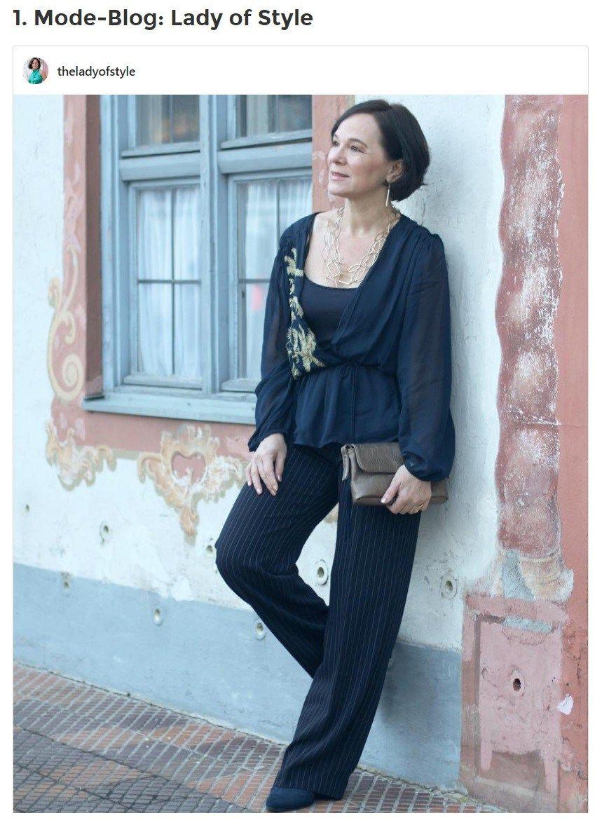 BUNTE Fashion Inspiration Lady of Style