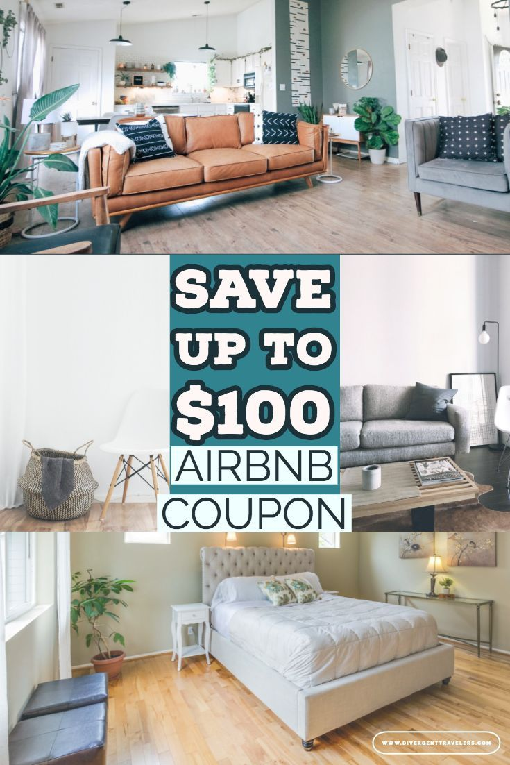 AirBNB Coupon Code: Up to $100 in Free Promos & Discounts - Airbnb gives you the option of staying with locals as you travel, thus saving a lot of money. Most experienced travelers do not book hotel stays anymore because of this service. We're about to share with you how to get an Airbnb coupon code and maximize your savings. #Discountcode #AirBNBCoupon #Planyourtrip #VacationIdeas #TravelDeals #TravelDiscounts #Howtosavemoneyfortravel #Travel #AirBNB