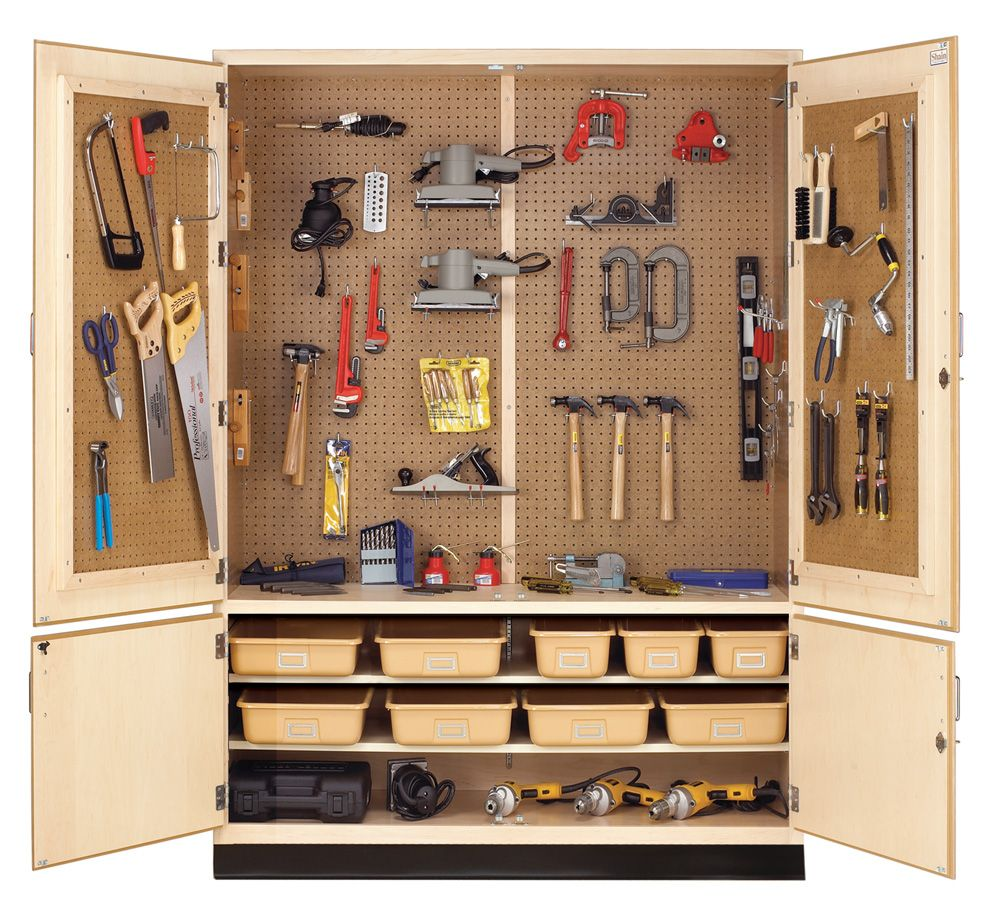 Tool Storage Cabinet - Available through MeTEOR Education