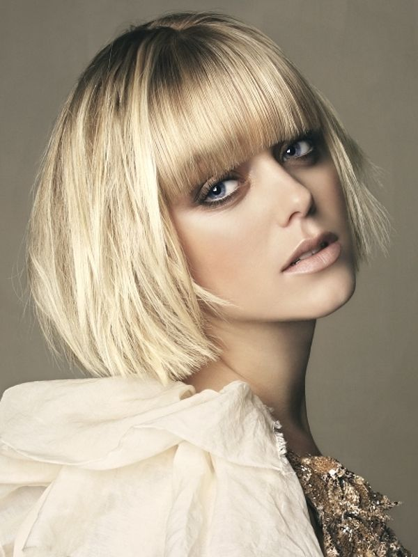 Admirable 1000 Images About Blonde Bob Cut Cute On Pinterest Blonde Bob Hairstyles For Women Draintrainus