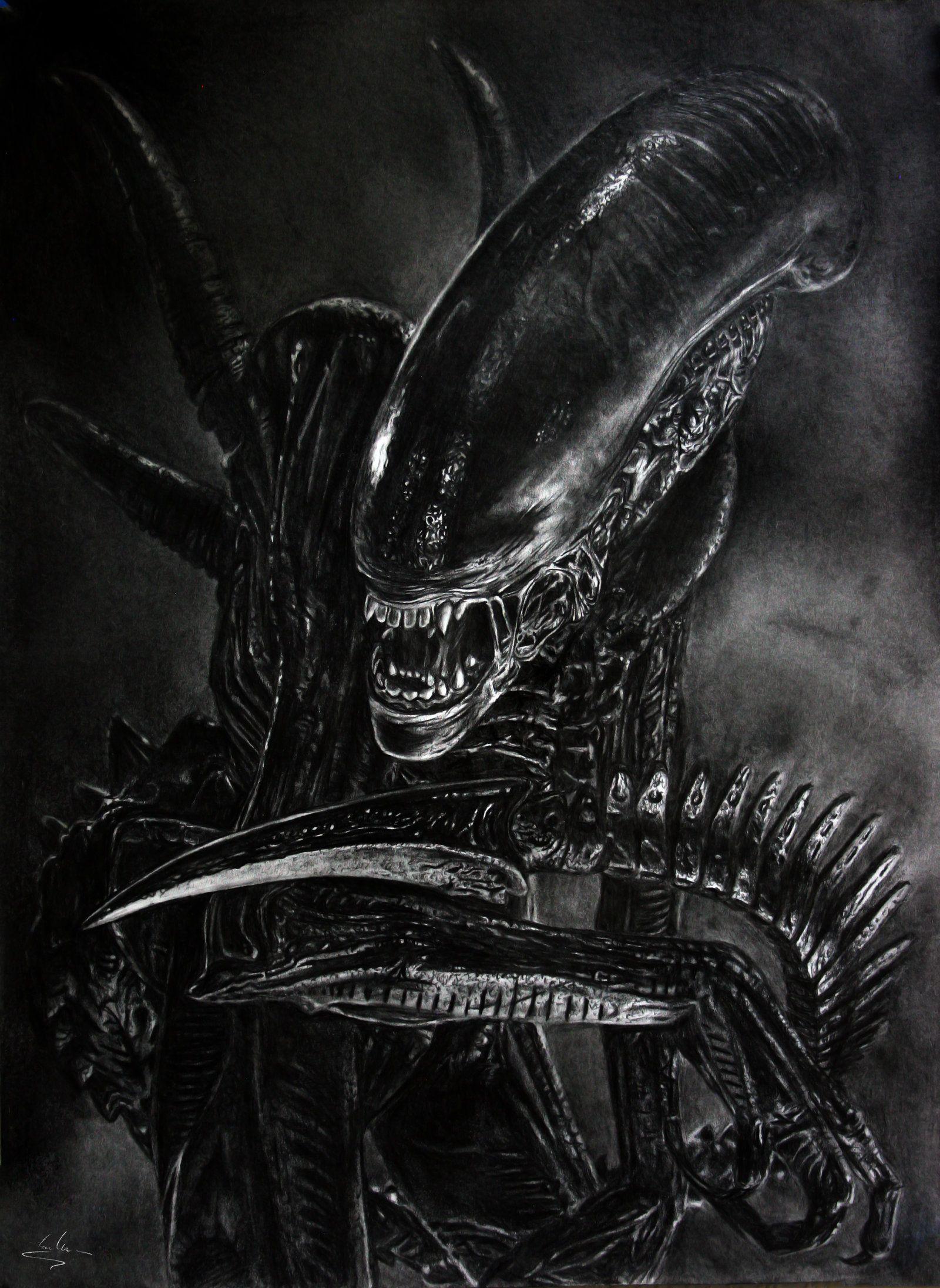 Alien by Shekhina.deviantart.com on @DeviantArt