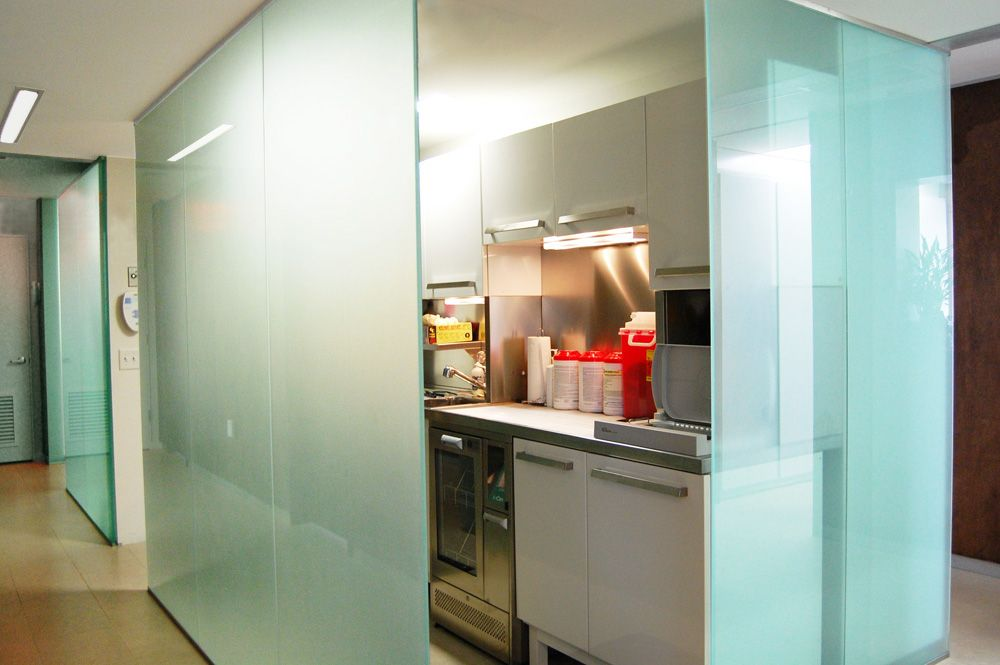 glass walls at sterile Dental sterilization Pinterest Walls