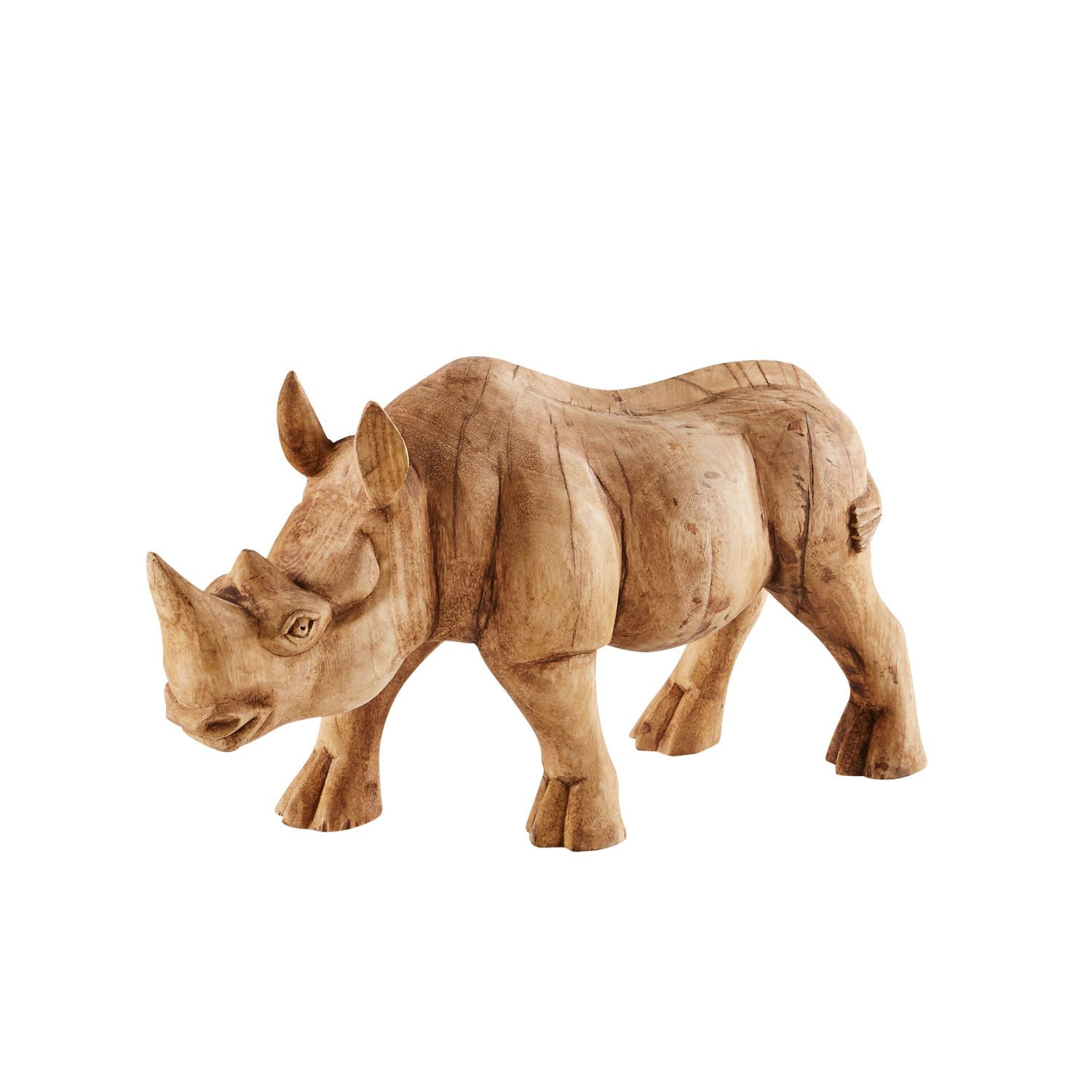 Wanddeko Nashorn Dekoration Action Gifts Geschenke Sculpture Decorative