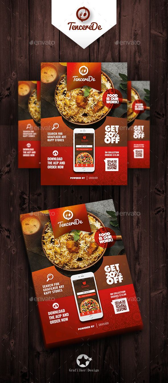 Restaurant Cafe Flyer Design Templates - Restaurant Cafe Flyer ...