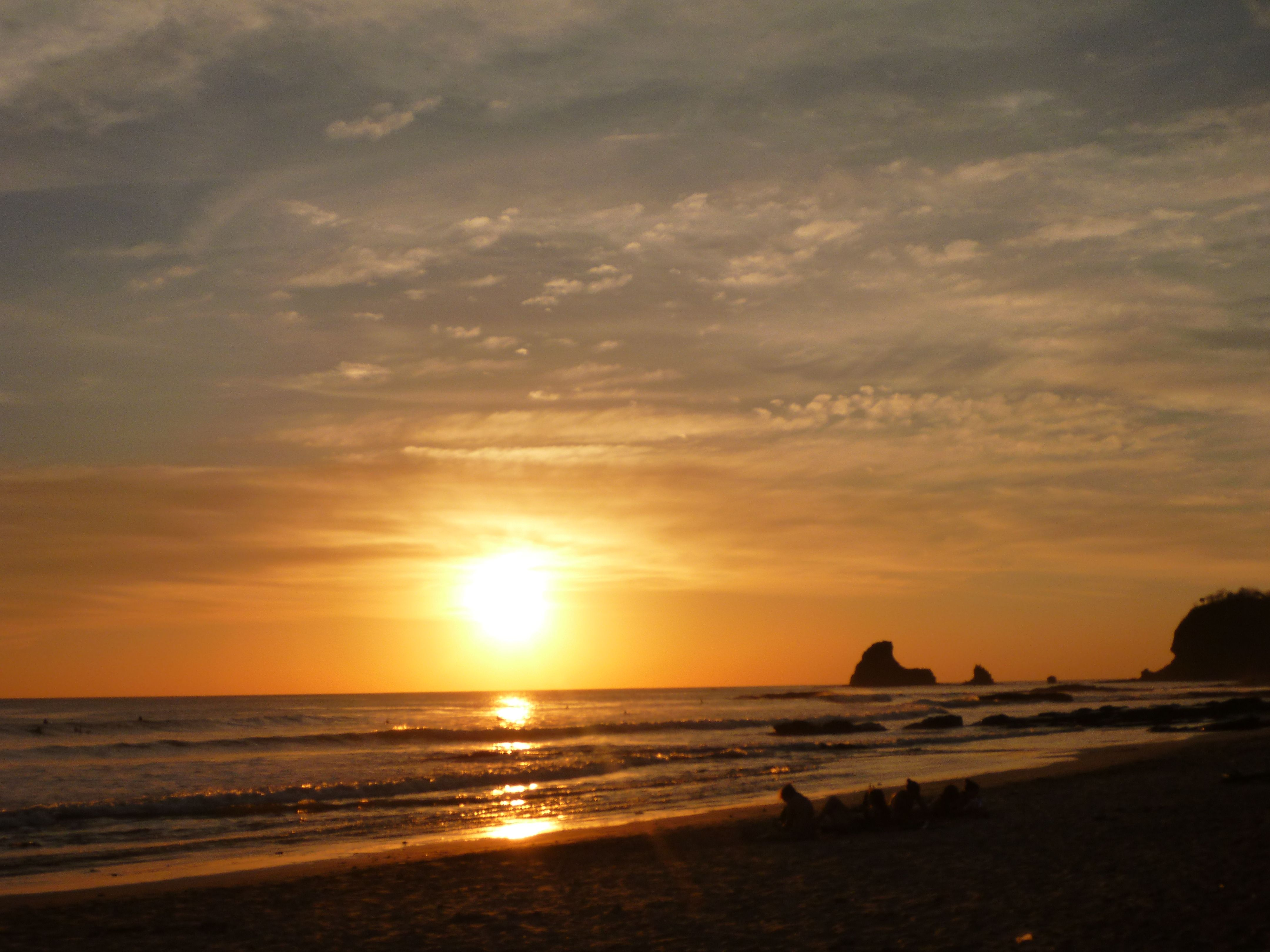 Sunset Magic - Playa Hermosa Nicaragua Beach Life Pinterest