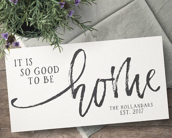 Personalized Home Gifts   Personalized Wedding Gift   New Home Gift    Housewarming Gift   Good To Be Home Sign   Entryway Decor  Home Decor