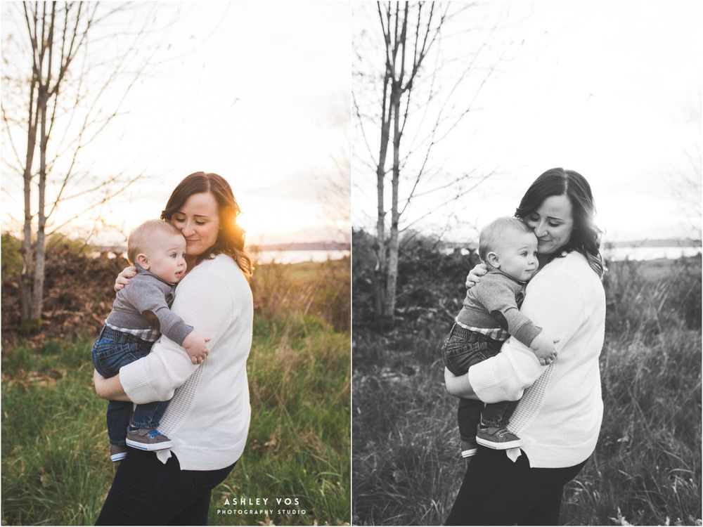 Seattle Lifestyle Family Photography - One Year - Family Photo Pose