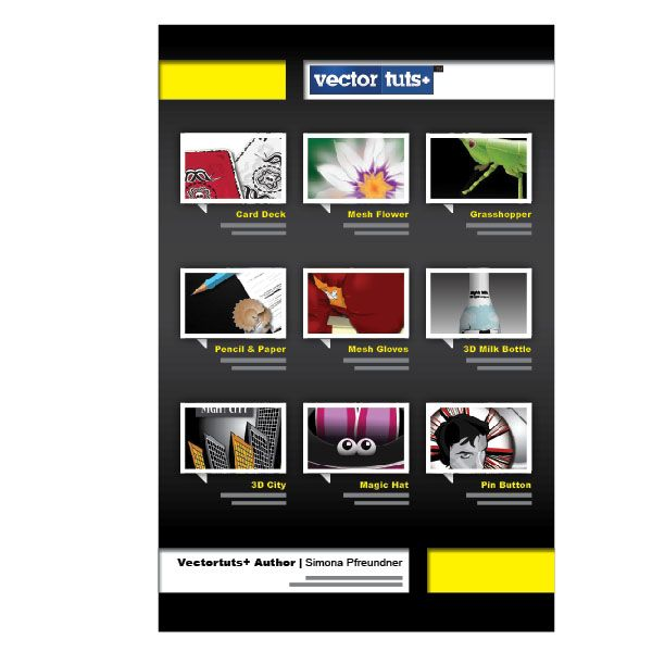 Create A Quick One Page Portfolio In InDesign | Vectortuts+ Great Way To  E Mail