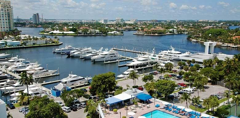 Fort Lauderdale Marina- Fort Lauderdale Yachting- Bahia Mar Fort Lauderdale Beach