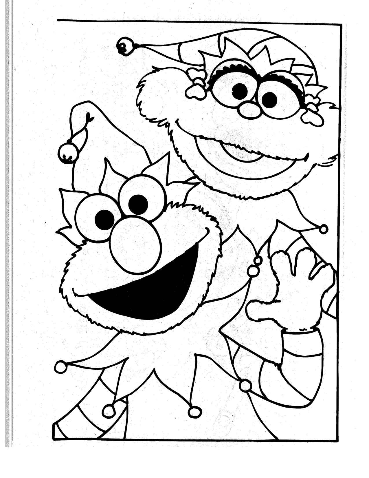 Free Printable Elmo Coloring Pages For Kids Mase S 1st Bday Elmo