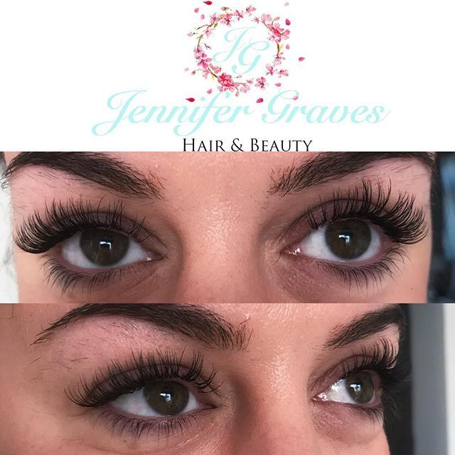 Lashes Had This Mega Babe In This Morning For A Full Set Of Classic