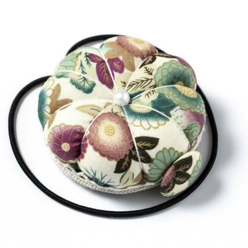 Pumpkin Needle Pin Cushion Holder DIY Craft Wrist Pincushion Sewing DIY Supplies