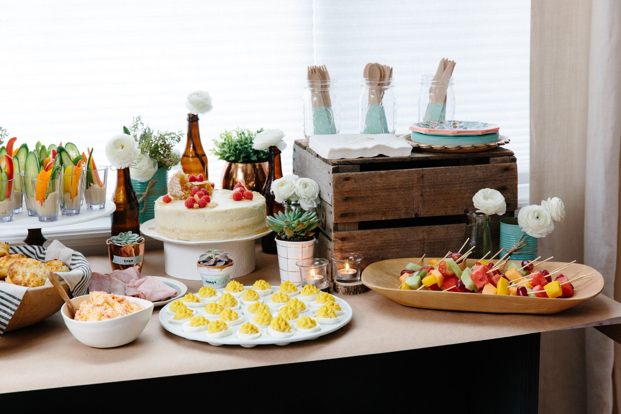 how to throw a rustic bridal shower at home the rustic bridal shower