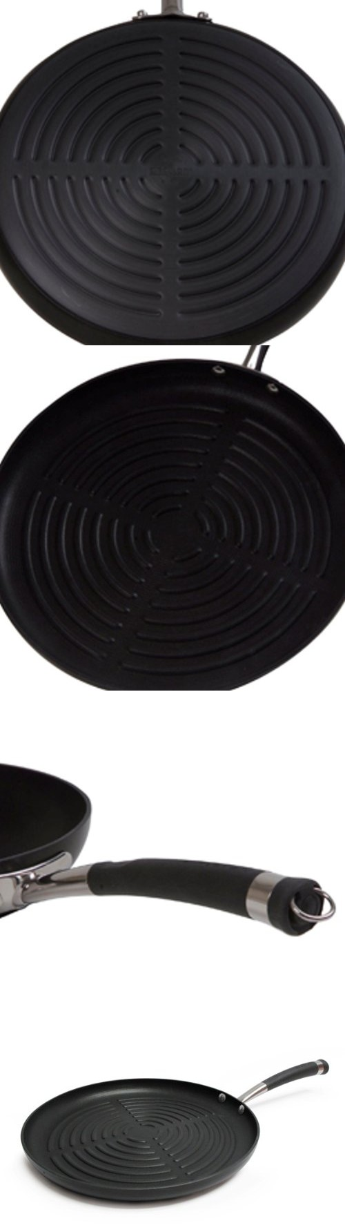 Circulon Contempo Hard Anodized Nonstick 12 Inch Round Grill Pan Grill Pan Grilling Pan