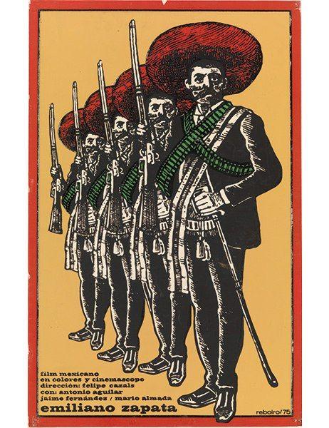A 1975 film poster by Antonio Fernández Reboiro