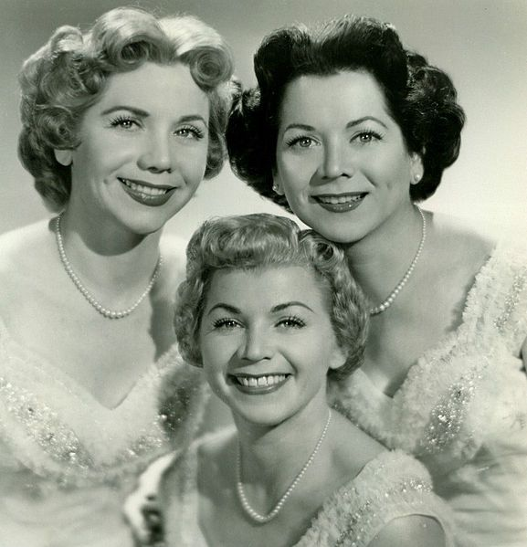 singing group THE FONTAINE SISTERS from the 1940s/1950s | SISTERS