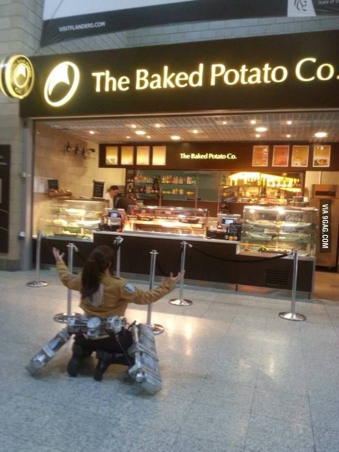 Bring Me The Chocolate Attack On Titan Cosplay Anime Meme De