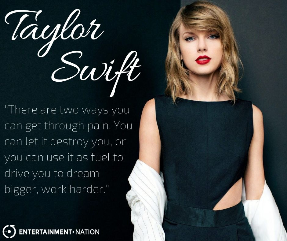 Quote from Taylor Swift. motivation motivationalquote