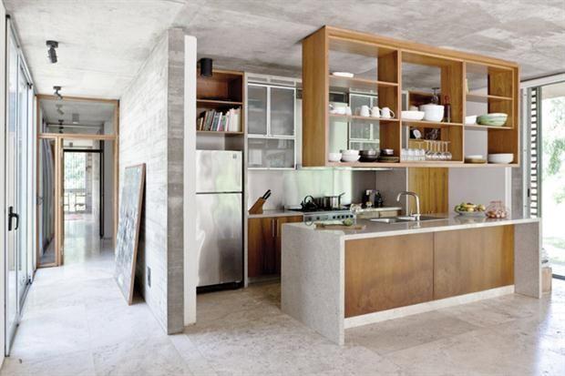 Ideas y soluciones para redecorar la casa espacios for Soluciones cocinas estrechas