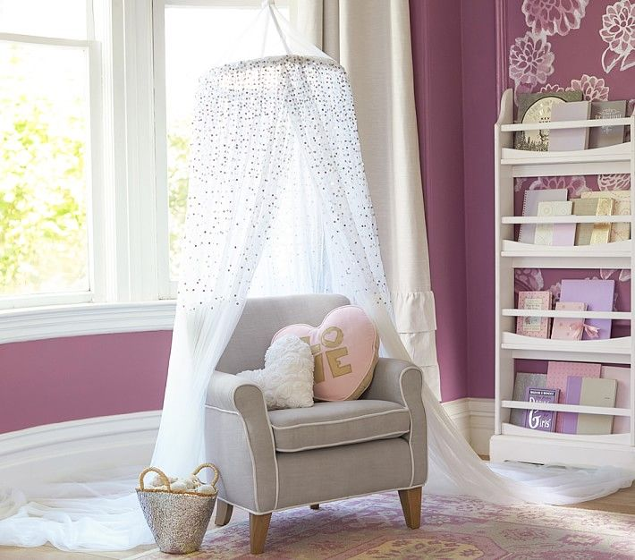 Pottery Barn Kidsu0027 bed canopies transform your childu0027s room to a safari adventure or a magical kingdom. Find bed canopies that will compliment any decor. & Bed Canopies u0026 Bed Canopy For Girls | Pottery Barn Kids | Bedroom ...