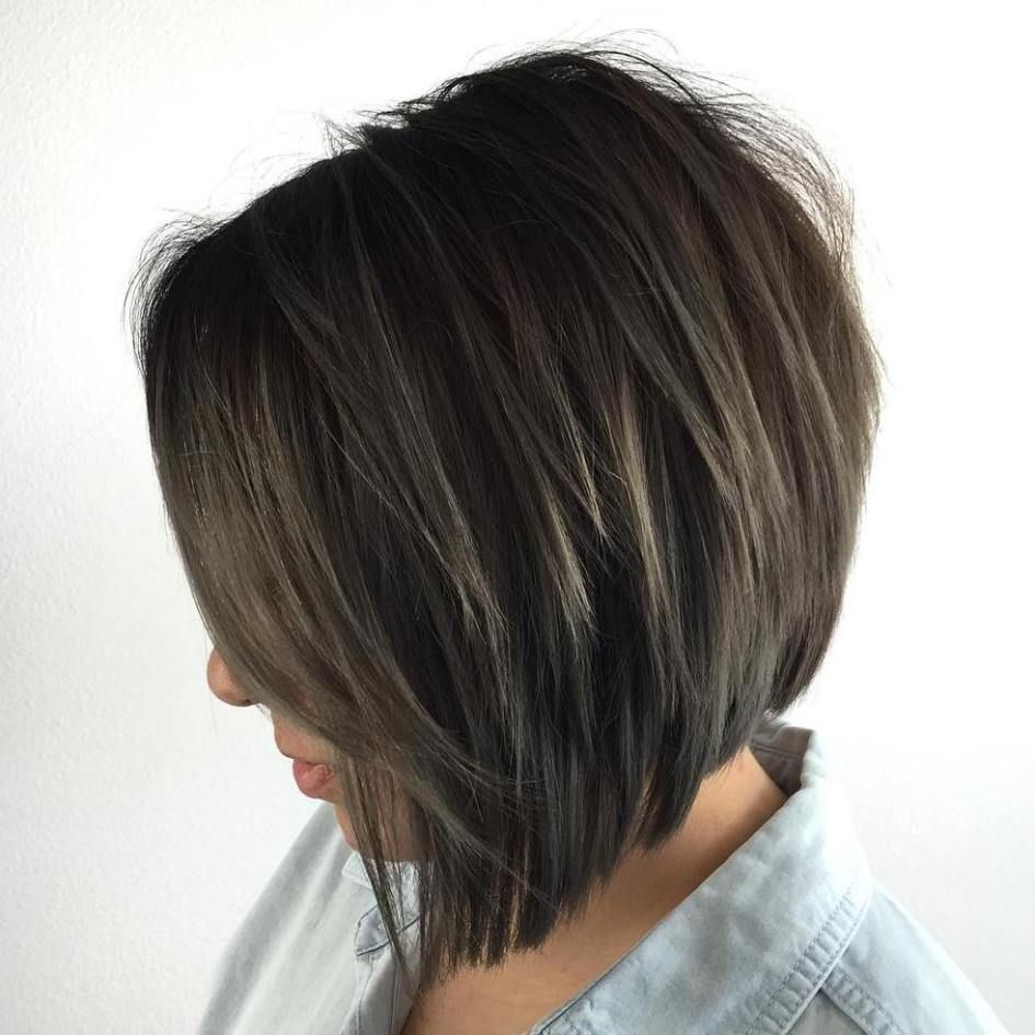50 Trendy Inverted Bob Haircuts Brunette Bob Brunettes And Bobs