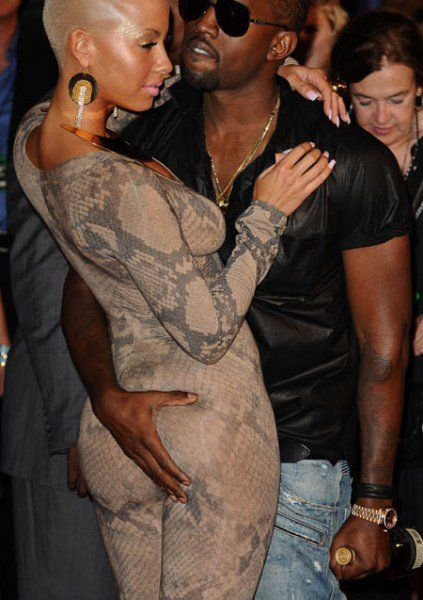 Yeezy Taught You Well Haha Amber Rose Kanye West Fashion