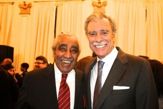 Rep. Charlie Rangel (D. NY) with T.H. Carlos Gutiérrez