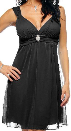 Black Strap Rhinestone Evening Prom Party Mini Dress From HOT