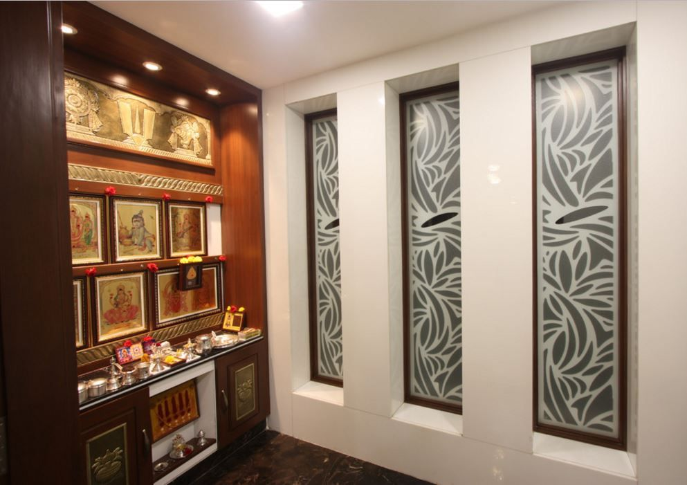 Pooja room designs in wood pooja room woods room and for Pooja room interior designs