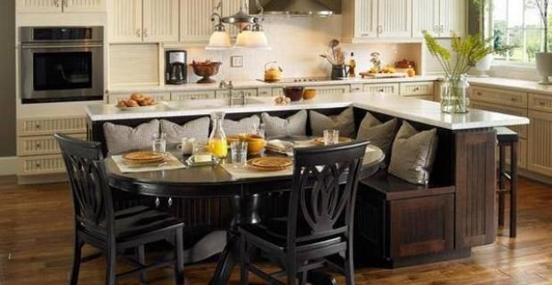 Cocinas rusticas modernas con isla cerca amb google - Diseno de cocinas rusticas ...