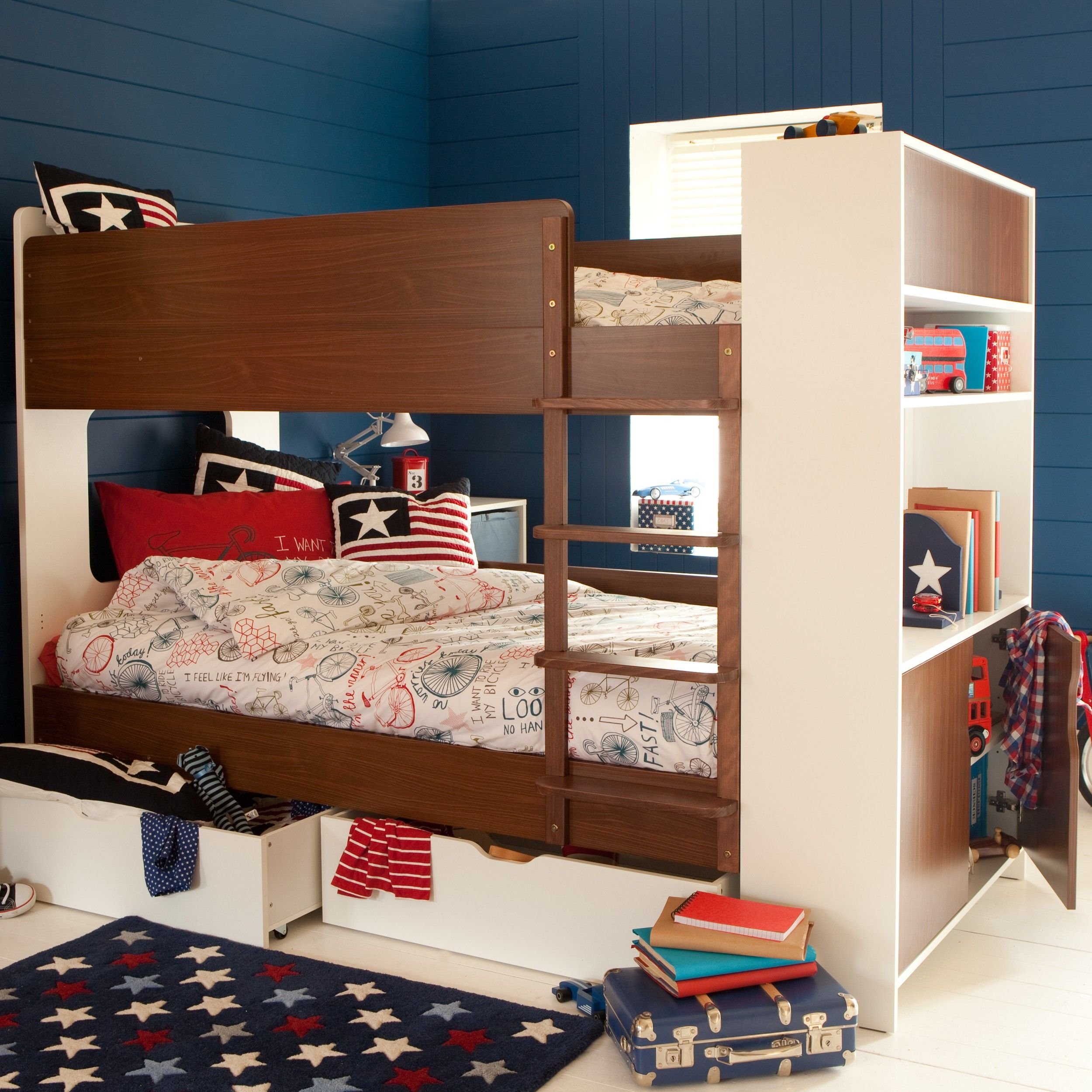 Coco Storage Bunk | Aspace | make - beds | Bunk beds, Bunk beds with ...
