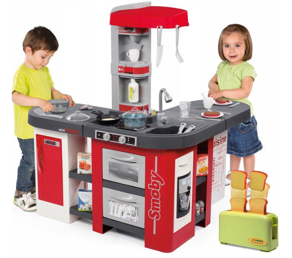 Smoby Magiczna Duza Kuchnia Elektroniczna 38 Akcesoriow Tefal Studio Xxl Bubble Toster Tefal Classic Https Brykacze Pl Smo Tefal Bubbles Baby Doll Nursery