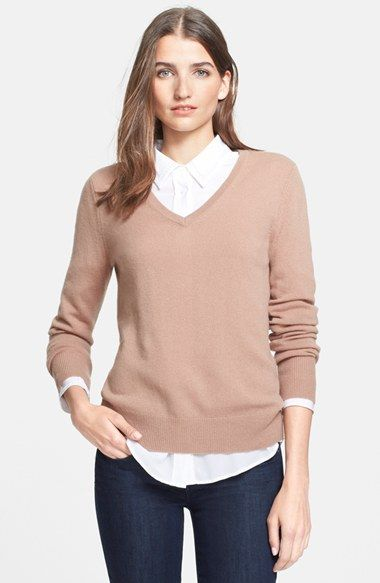 Equipment 'Cecile' Cashmere Sweater available at #Nordstrom