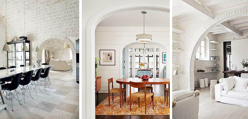 Arcos para separar ambientes prescinde de puertas - Arcos decorativos para puertas ...