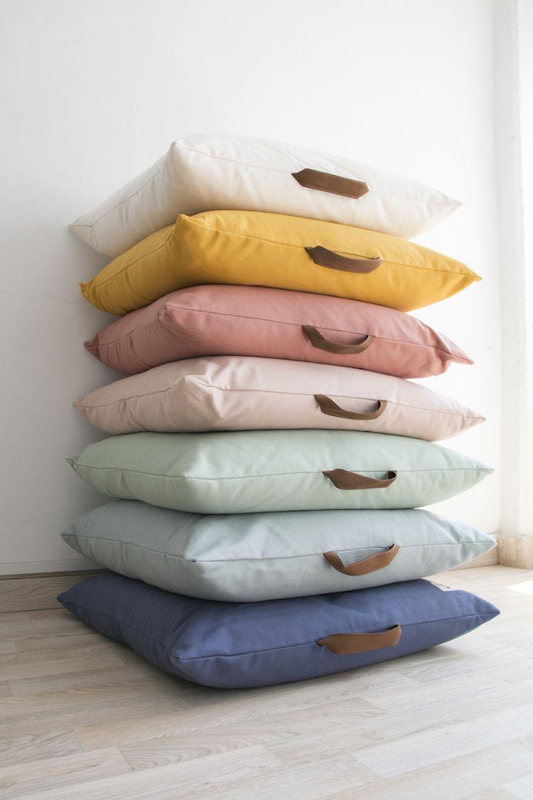 kalahari-beanbag-colors-pure-line-nobodinoz-2 | Kissen, Kinderzimmer ...