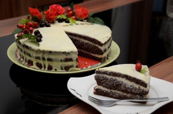 Torta s mascarpone-tvarohovým krémom (fotorecept) - obrázok 8