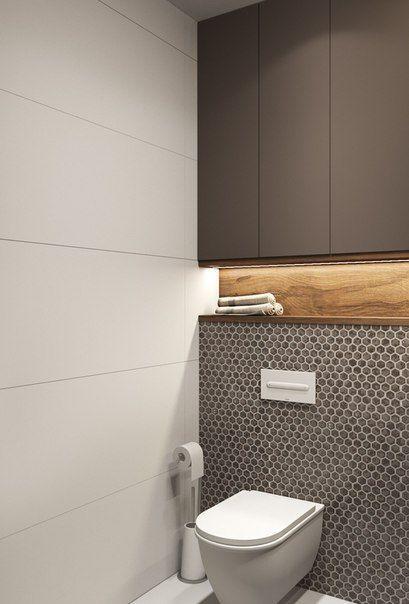 schönes Finish, schöne Materialien und Farben ... ähnlich könnte nicht zustimmen #smalltoiletroom