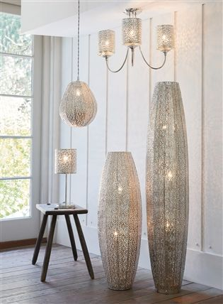 buy oriana large 3 light floor lamp from the next uk With oriana large 3 light floor lamp