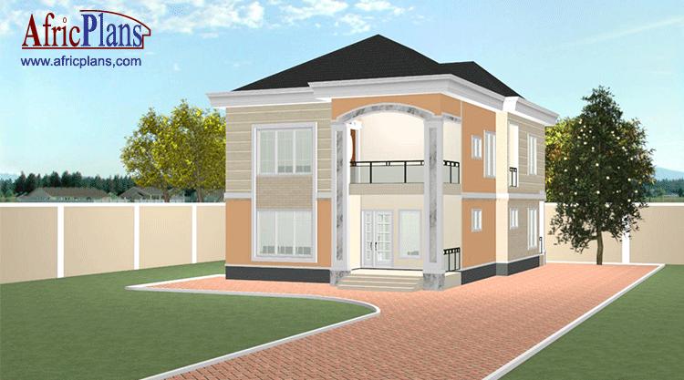 Plan Maison Afrique Plan 3 Pieces 186 M2