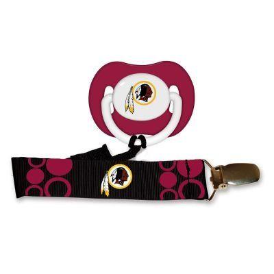 Redskins pacifier leash