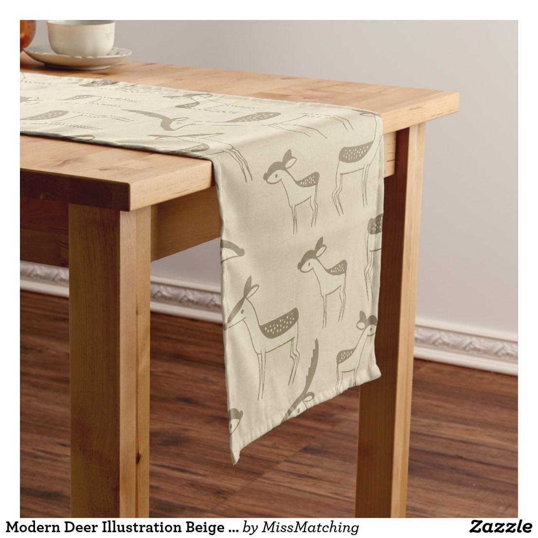 Latte Rectangular Acrylic Table Runner