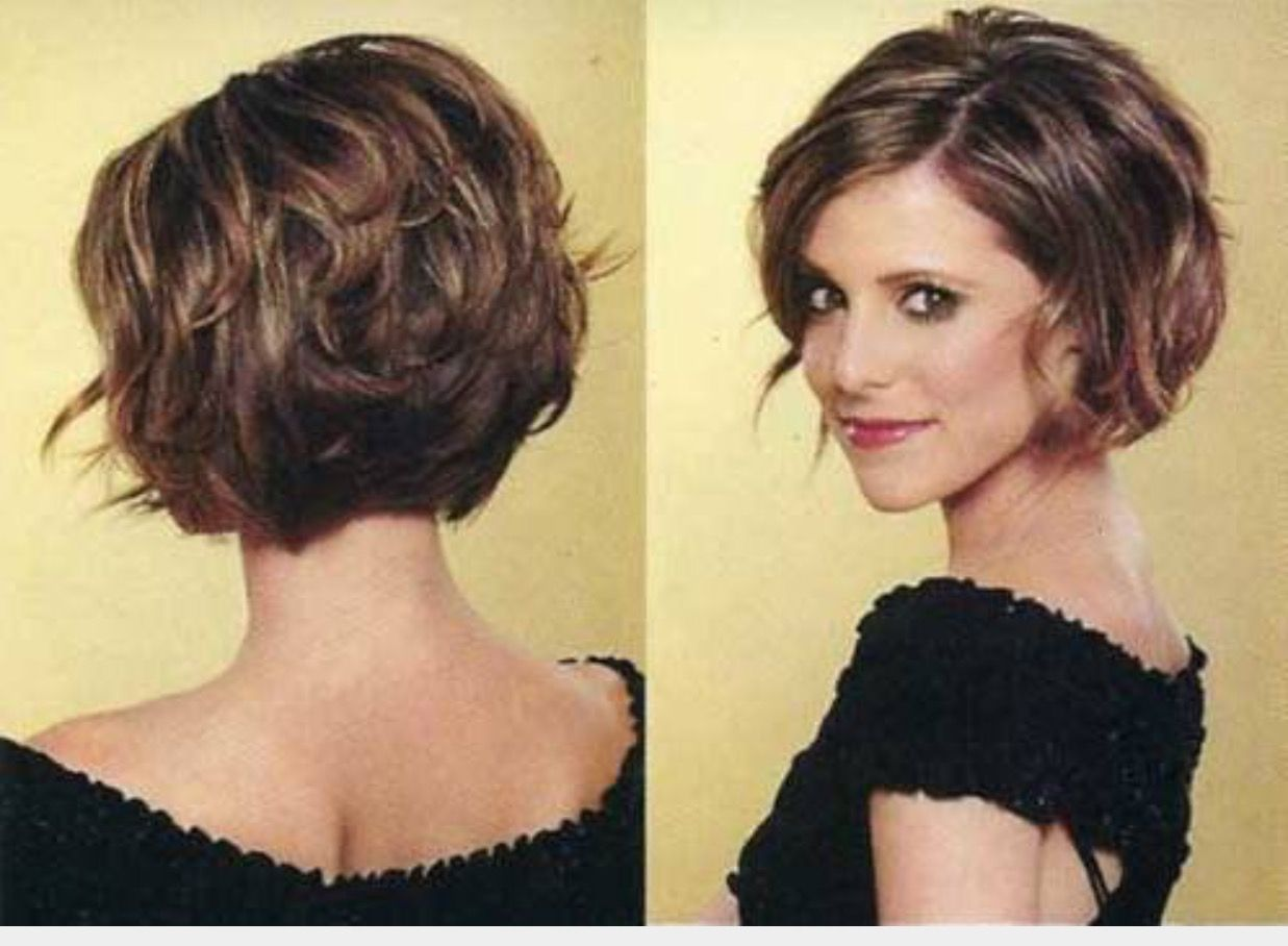 Easy Hairstyles For Thick Hair Beauteous Pinольга On Волосы  Pinterest  Short Bobs Haircut Styles And