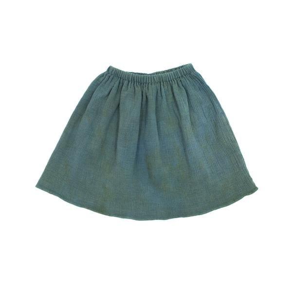 gauze skirt / spruce